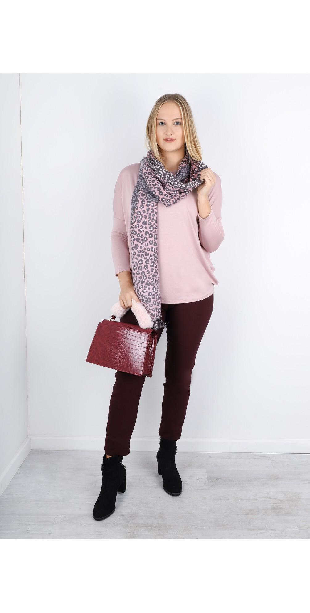 Kiera Soft Drape Jersey Top main image