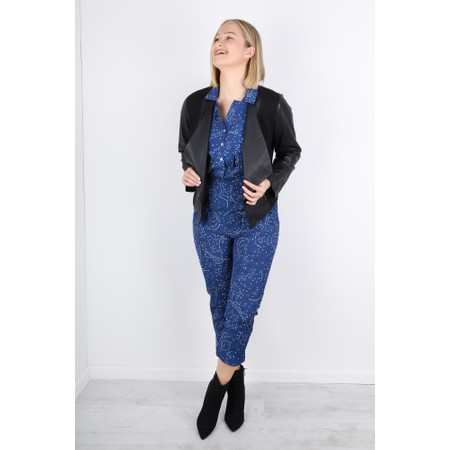 Mercy Delta Lawrence Jumpsuit - Blue
