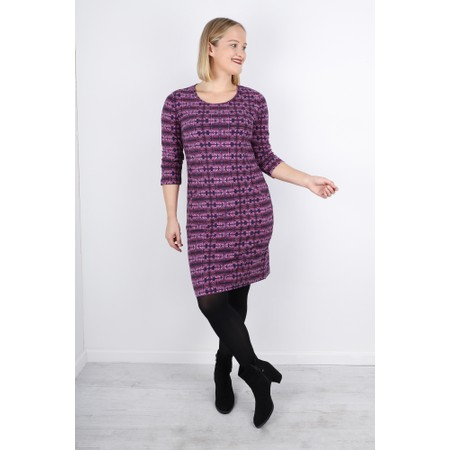 Adini Magus Print Magus Dress - Purple
