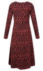 Masai Clothing Red Ochre Org Nia Dress