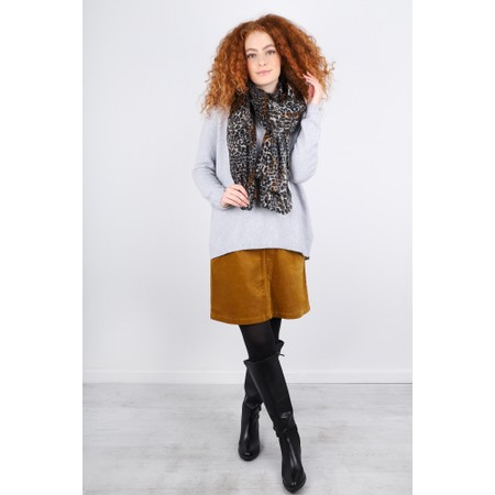 Masai Clothing Soleil Cord Skirt - Brown