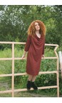 Masai Clothing Red Ochre Org Nika Dress