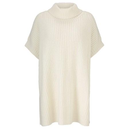 Masai Clothing Frida Turtleneck Knit Tunic - Off-White