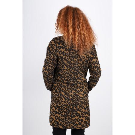 Masai Clothing Jonna Leopard Print Jacket - Brown
