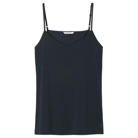 Sandwich Clothing Organic Cotton Vest Top - Blue