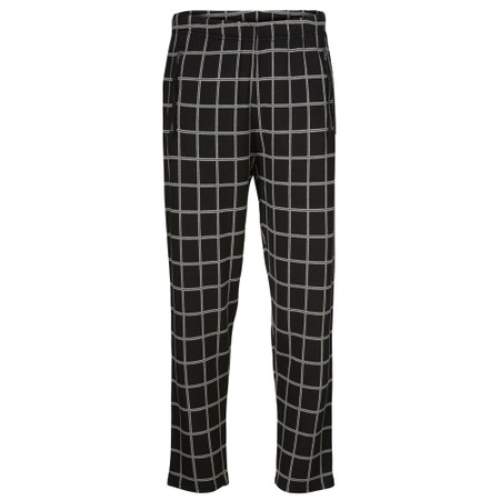Masai Clothing Parissi Capri Checked Trousers - Grey