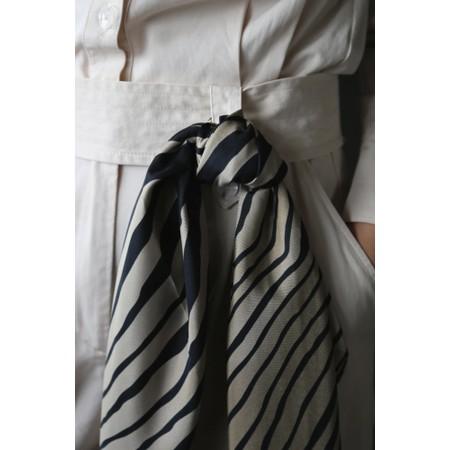 Tutti&Co Zebra Square Scarf - Black