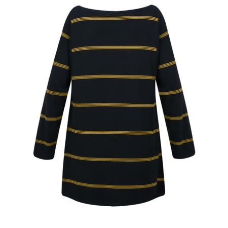 Masai Clothing Blanca Stripe Top - Brown