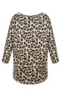 Masai Clothing Ginger Org Bluma Leopard Top