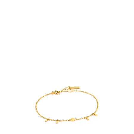 Ania Haie Geometry Drop Discs Bracelet - Gold
