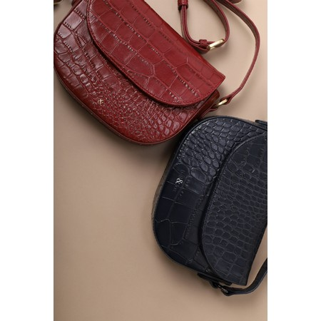 Bell & Fox Callie Mini Saddle Cross Body Bag - Red
