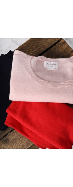 Absolut Cashmere Astrid Round Neck Poncho Cashmere Jumper Poudre