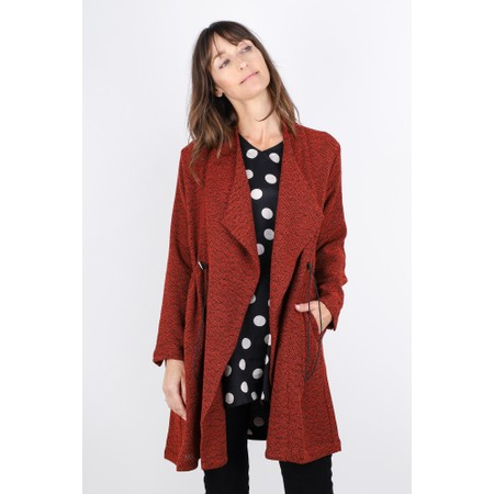 Masai Clothing Jonna Boucle Jacket - Red