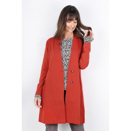 Masai Clothing Ina Cardigan - Red