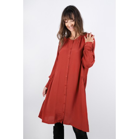 Masai Clothing Nelly Shirt Dress - Red