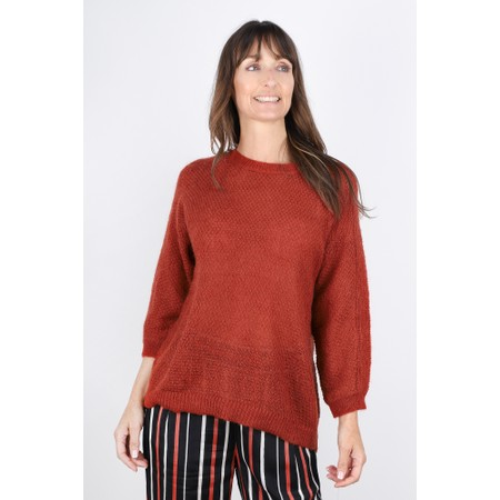 Masai Clothing Floris Jumper  - Red