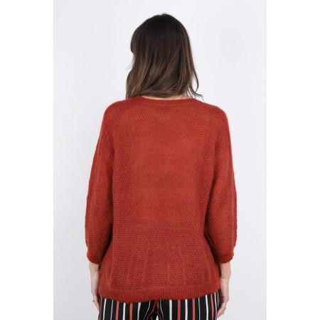 Masai Clothing Floris Jumper  - Red