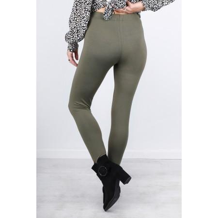 Masai Clothing Pia Basic Leggings - Green