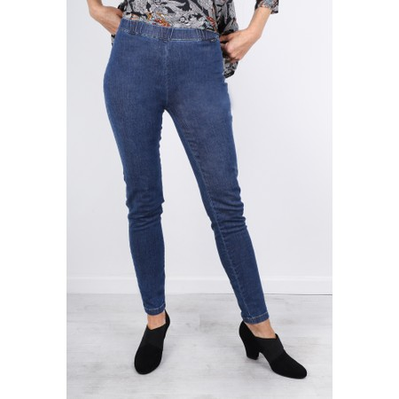 Masai Clothing Pandy Stretchy Basic Jeans - Blue