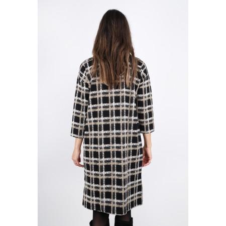Masai Clothing Neva Checked Dress - Black