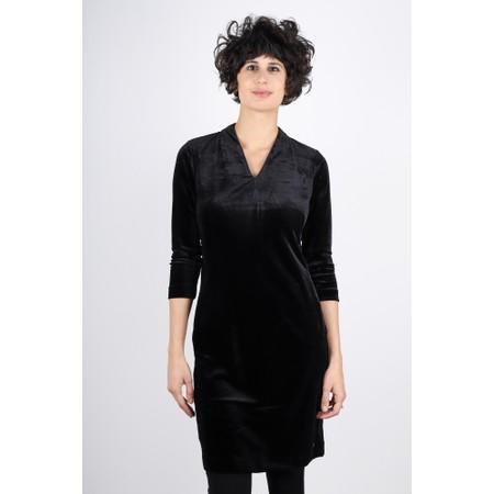 Sandwich Clothing Velvet Party Dress - Black