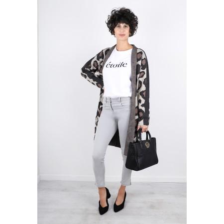 Chalk Tasha Etoile Jersey T Shirt - Black
