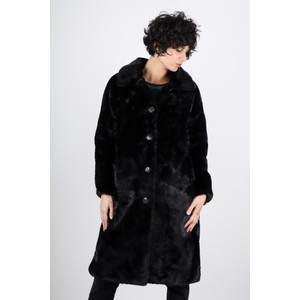 RINO AND PELLE Zonna Longline Faux Fur Coat