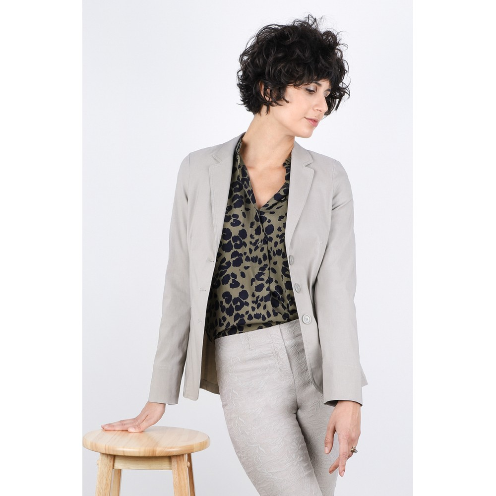 Robell Emilia Fitted Jacket Light Taupe 13