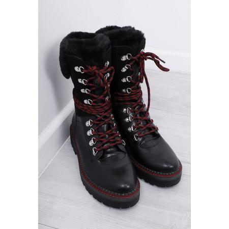 Tamaris  Adalena B High Leg Hiker Boot - Multicoloured