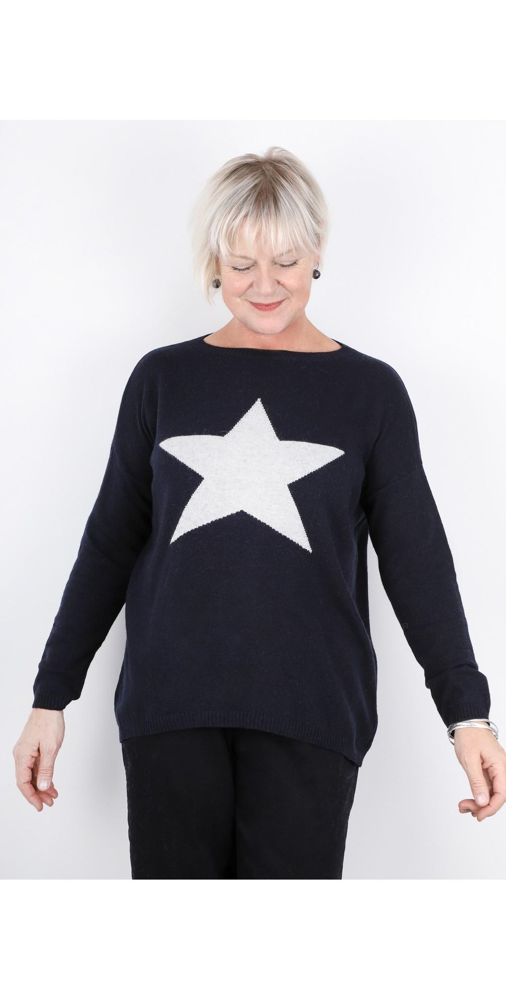Classic Star Cashmere Blend Jumper main image