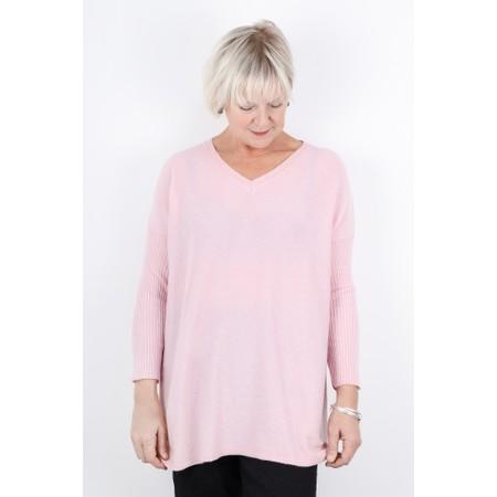 Luella Octavia Cashmere Blend Jumper  - Pink