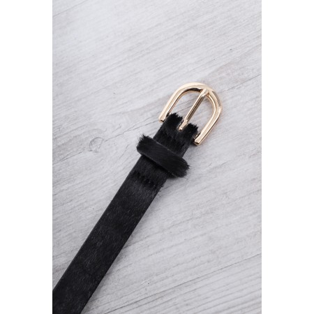 Gemini Label Accessories Zimba Narrow Belt - Black