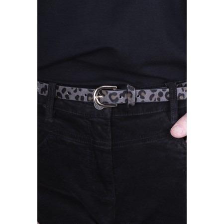 Gemini Label  Zimba Narrow Belt - Grey