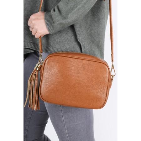 Gemini Label  Connie Cross Body Bag - Brown