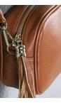 Gemini Label Bags Dark Tan Connie Cross Body Bag