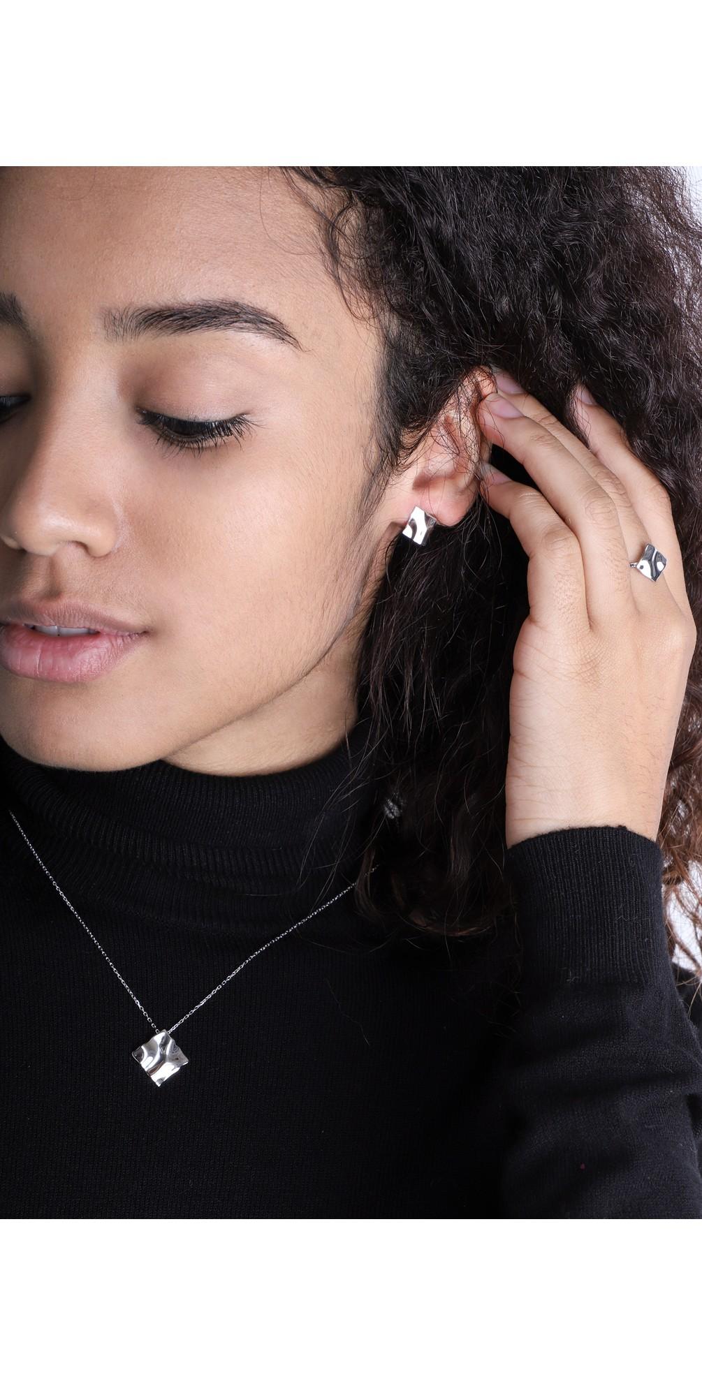 Crush Mini Square Stud Earrings main image