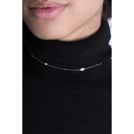 Ania Haie Opal Colour Necklace - Metallic
