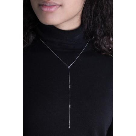 Ania Haie Glow Y Necklace - Metallic