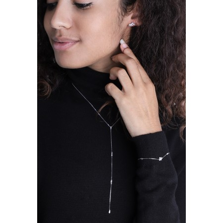 Ania Haie Glow Bar Stud Earring - Metallic
