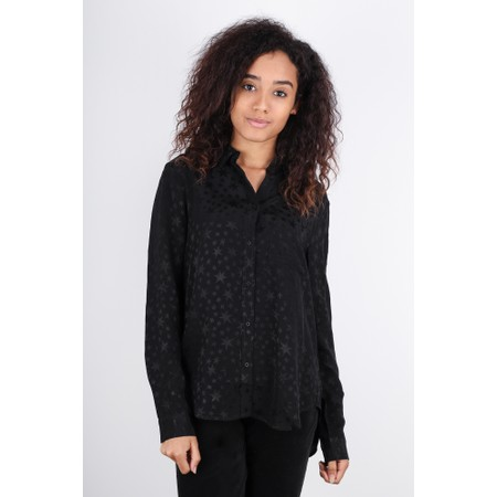 Great Plains Canterbury Star Long Sleeve Shirt - Black