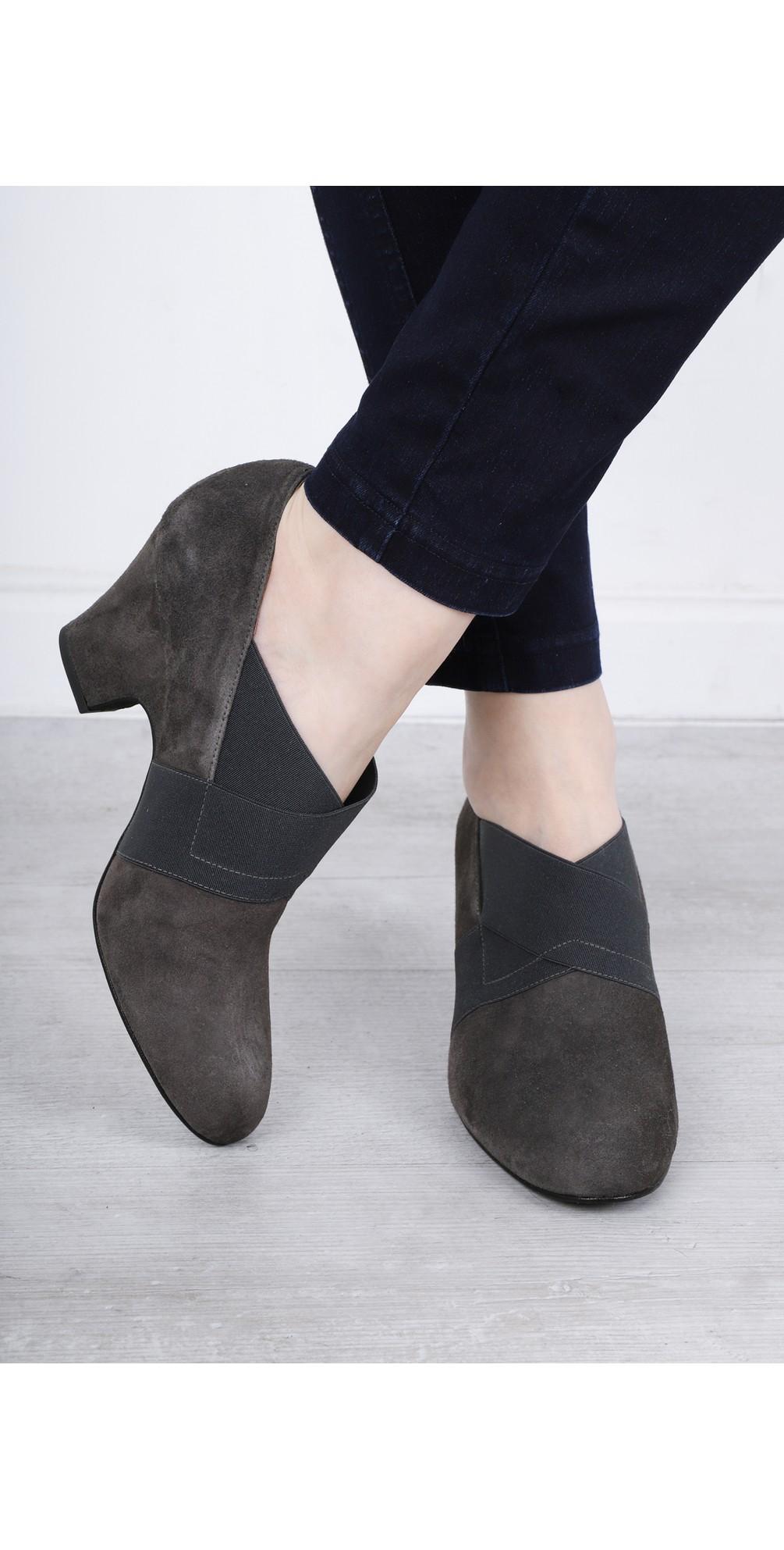 Bepra Anthracite Suede Crossover Elastic Shoe main image