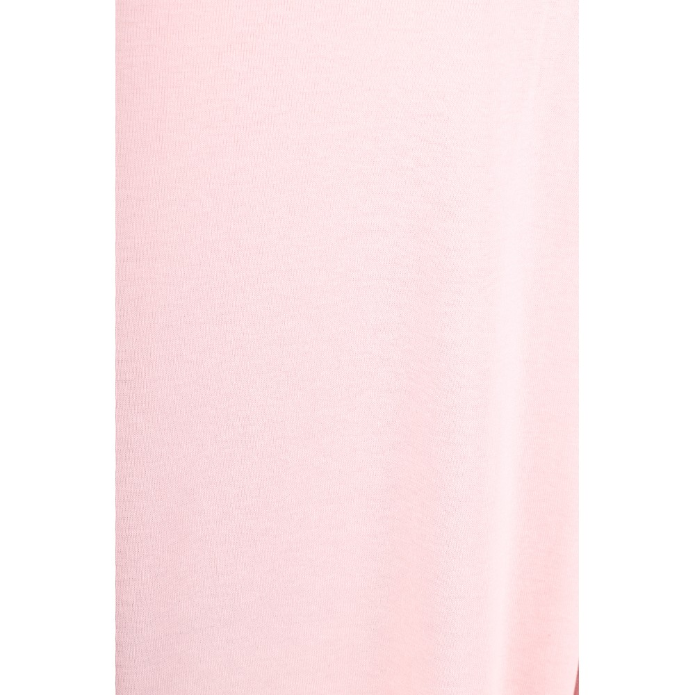 BY BASICS Clara Easyfit Organic Cotton Roll Neck Top Rose 500
