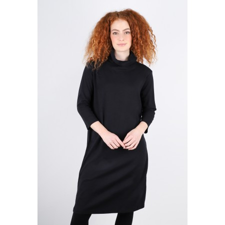 BY BASICS Maya Roll Neck EasyFit Dress - Black