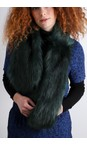 Helen Moore Brunswick Loop Faux Fur Scarf