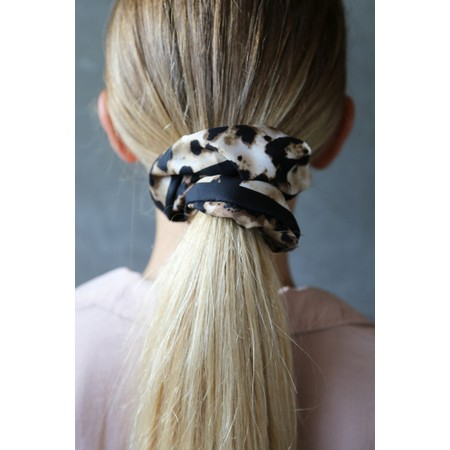 Tutti&Co Jasper Scrunchie - Brown