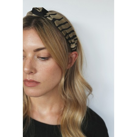 Tutti&Co Zebra Headband - Black