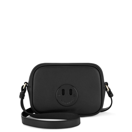 Hill & Friends Happy Mini Camera Bag - Black