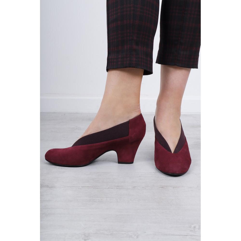 Gemini Label Shoes Brumabe Suede Shoe Bordeaux