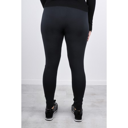 Grizas Elina Plain Jersey Leggings - Black