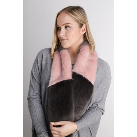 Helen Moore Vixen Slim Multi Scarf  - Multicoloured